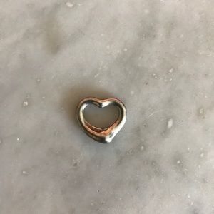Tiffany Open Heart Pendant